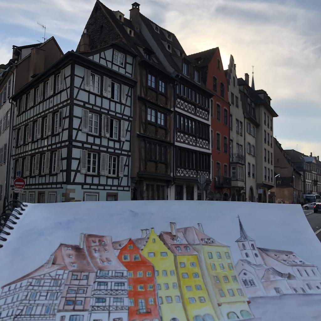 Quai Saint-Nicolas à Strasbourg
